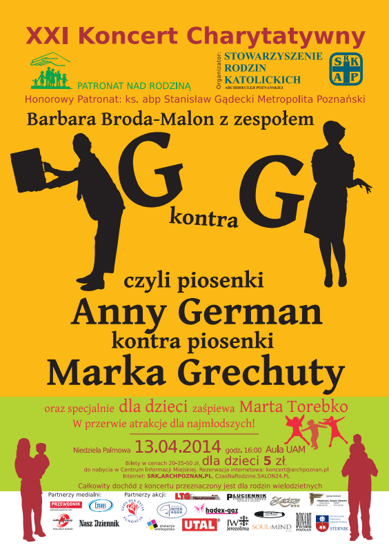 plakat koncert 2014